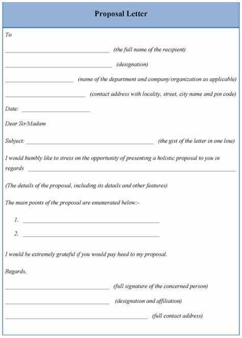 letter template for sle of letter template sle templates