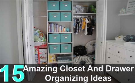 Organizing Closets And Drawers by 15 Amazing Closet And Drawer Organizing Ideas Diy Home