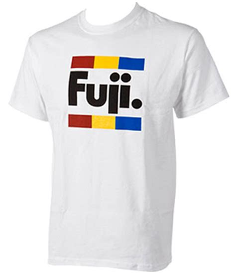 Fuji 2 T Shirt 2wheels1crank fuji retro t shirt
