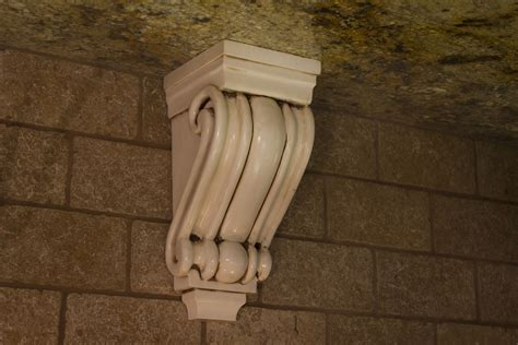 Ornate Wooden Corbels Accessories Out Of The Woods Custom Cabinetry
