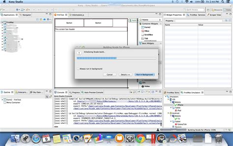 design form xcode ios install kony on mac os stack overflow
