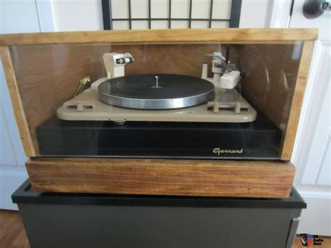 Garrard Type A Turntable garrard type a auto turntable with custom plinth and dust cover photo 724043 us audio mart
