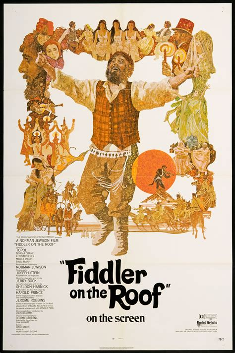 on the roof fiddler on the roof golden globes