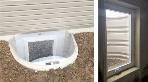 basement exits and window installation eco seal