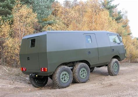 Go Anywhere Vehicles by Pinzgauer 6x6 Mobile Command Vehicle Go Anywhere In