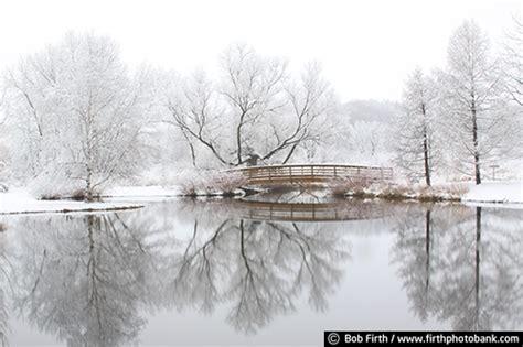 Mn Landscape Arboretum In Winter Arboretum Bridge 1564