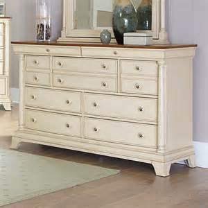 7 drawer white dresser homelegance inglewood ii 7 drawer dresser in antique white