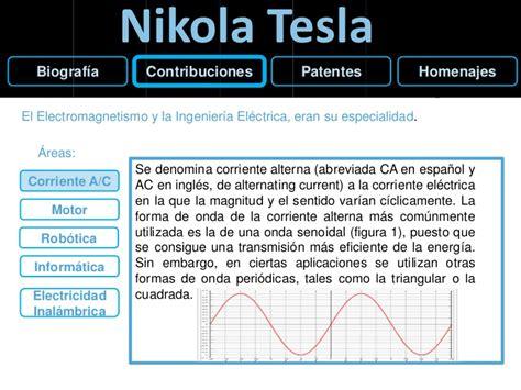 Biografia De Nikola Tesla En Español Nikola Tesla