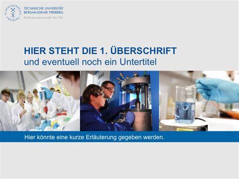 Corporate Design Vorlage Tu Darmstadt powerpoint vorlage tu bergakademie freiberg