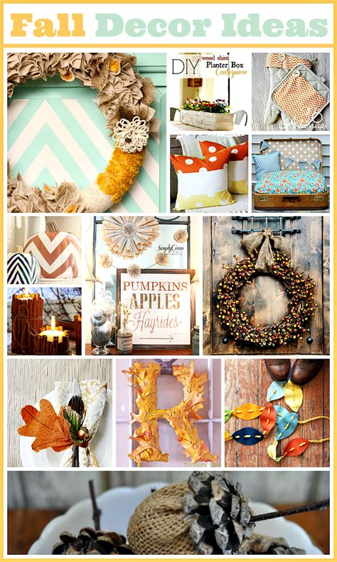 diy fall decorations home decor diy fall ideas the 36th avenue
