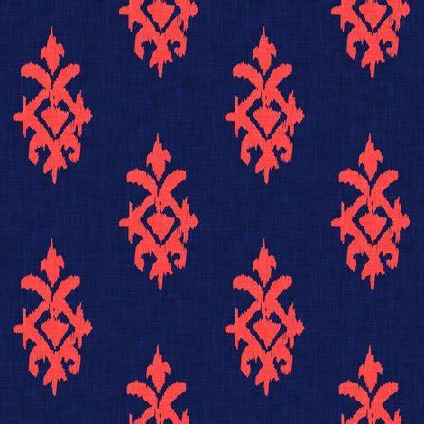 Original Gesper Ikat Pinggang Simple All Size simple ikat fiery coral navy linen wallpaper marcador spoonflower