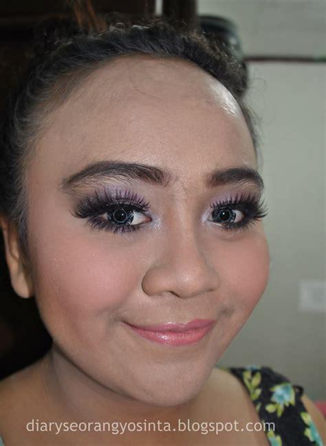 Eyeliner Maybelline Ungu ladypon mua make up untuk kebaya ungu part 2