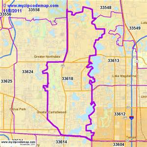 Tampa Fl Zip Code Map by Tampa Fl Zip Code Map Browse Info On Tampa Fl Zip Code