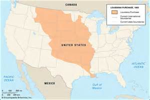 united states map louisiana purchase louisiana purchase history facts map britannica