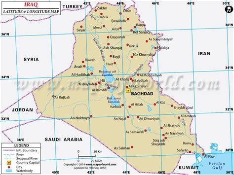 middle east map with latitude and longitude iraq tra amici inaspettati e lacooltura
