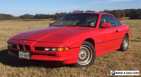 8 Series Bmw For Sale by 1991 Bmw 8 Series For Sale In United States