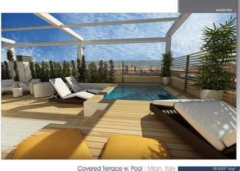 piscina in terrazza 22 idee per realizzare una zona piscina in terrazzo