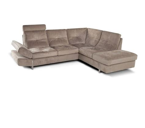dreamfurniture 973 modern fabric sectional sofa
