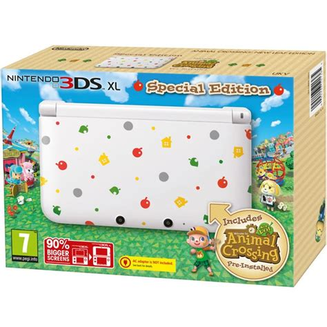 animal crossing new leaf 3ds console nintendo 3ds xl special edition includes animal crossing