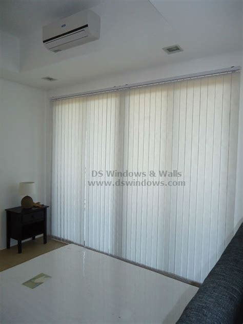 Low Cost Vertical Blinds fabric vertical blinds complete your white themed room with low cost alternative tagaytay city