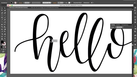 hand lettering tutorial illustrator tutorial how to digitize hand lettering calligraphy