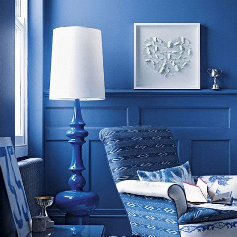 Iman Home Decor deep blue living room picsdecor com