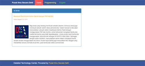 membuat artikel php source code aplikasi cara membuat php readmore pada