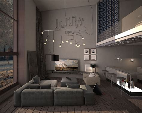 15 Dark Living Room Decorating Ideas Arranged With