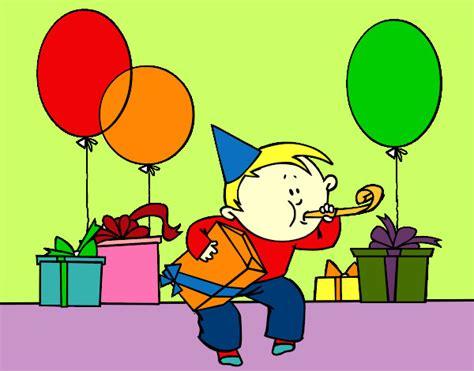 imagenes de cumpleaños fiesta dibujo de fiesta de cumplea 241 os pintado por melaniems en