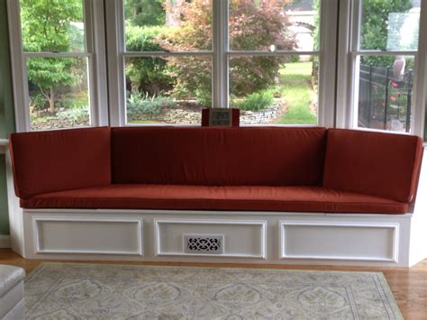 window bench cushions custom bay window seat cushion trapezoid cushion with