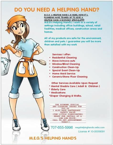 cleaning services advertising templates cleaning service advertisement exle search