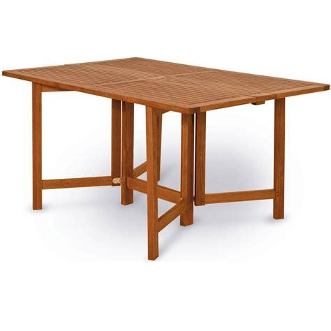 tavolo da giardino richiudibile tavolo in legno keruing papavero richiudibile ed