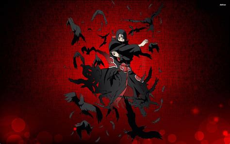 wallpaper keren naruto hd naruto itachi wallpapers wallpaper cave