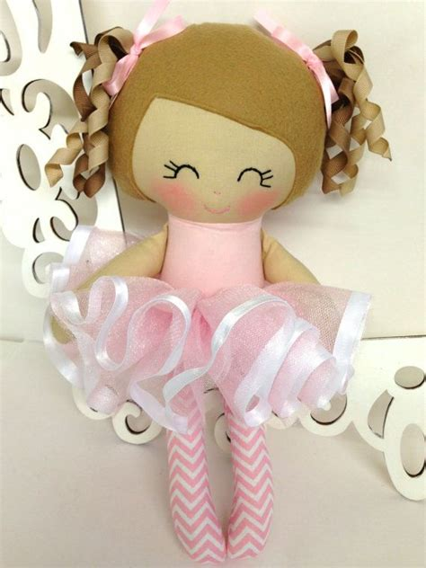 Handmade Doll Patterns - ballerina handmade doll rag doll fabric dolls soft dolls