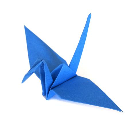 blue paper cranes graceincrease custom origami