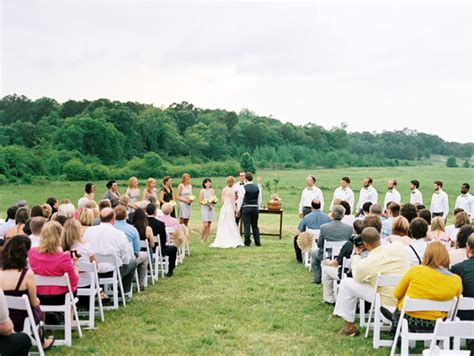 backyard wedding ceremony handmade backyard wedding from leo patrone