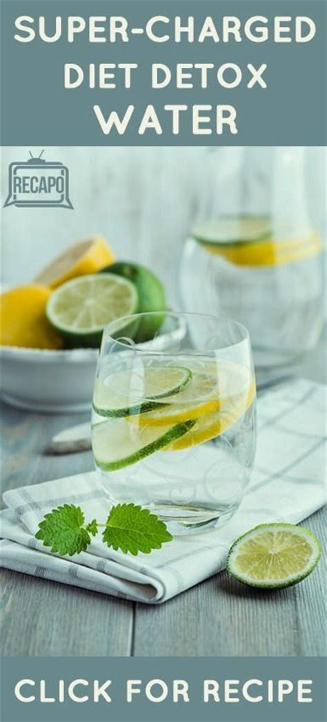 Dr Detox by Dr Oz Charged Hormone Diet Detox Water Recipe