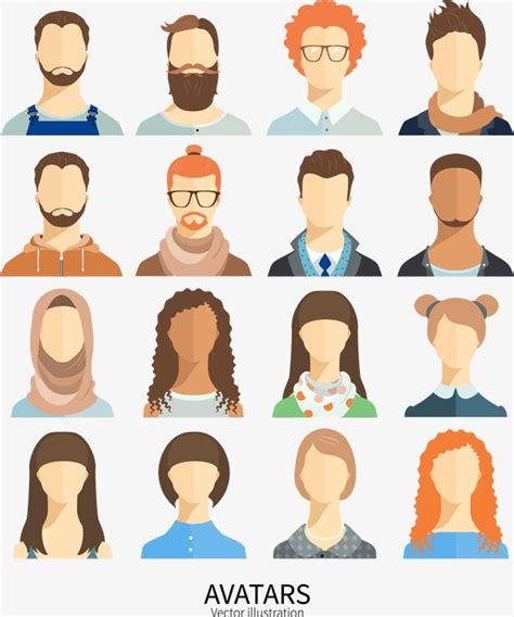 imagenes de personas que extrañas la gente dise 241 o plano vector figuras sin rostro