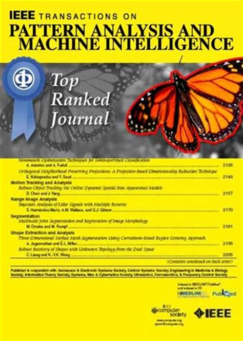 pattern analysis and machine intelligence journal machine learning related journals hci kdd org