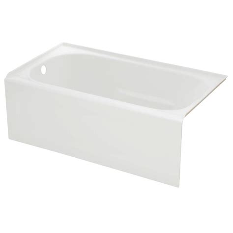4 5 ft bathtub lyons industries elite 4 5 ft left drain soaking tub in