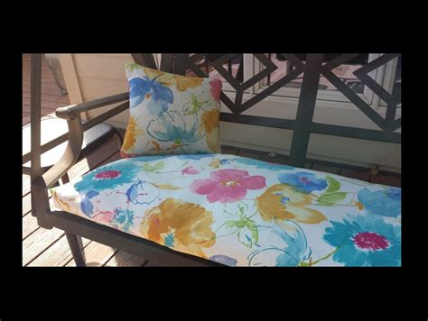 indoor bench cushion covers custom swing bench window seat cushion covers indoor or