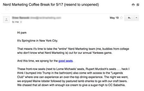 Email From God 5 retention emails that made me want to click