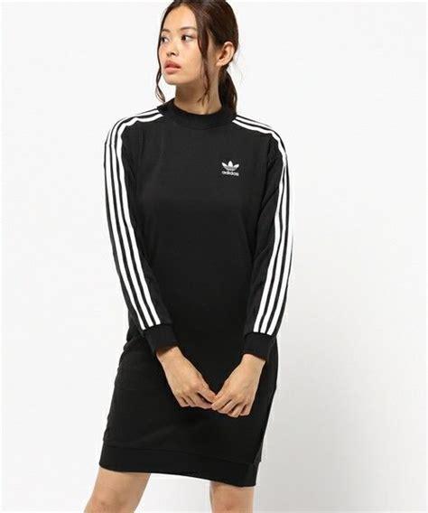 Sweater Hoodie Adidas 49 Ag Banaboo adidas originals black 3 stripes midi crew sweater jumper dress s uk size 8 ebay