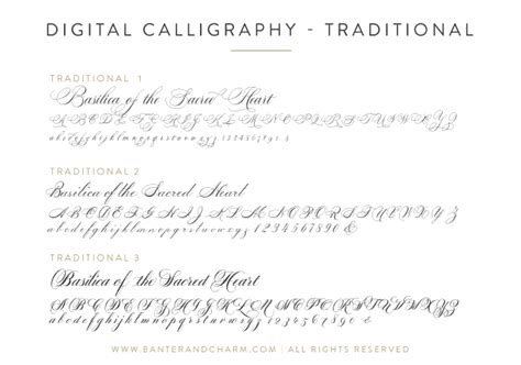 wedding stationery guide fonts part i banter and charm