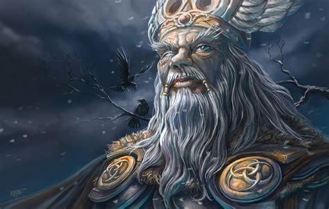 Drew Looking For Balder by Odin By Kejablank On Deviantart