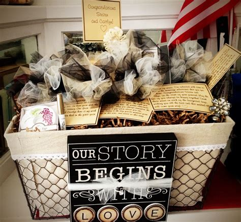 bridal shower gift baskets bridgette s of the week a wine basket of firsts