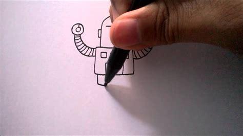 cara membuat robot orang cara menggambar robot dari huruf quot t quot how to draw a robot