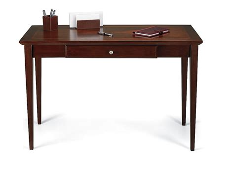 cherry wood writing desk realspace inlay outlet veneer writing desk 30 1 2 quot h x 47