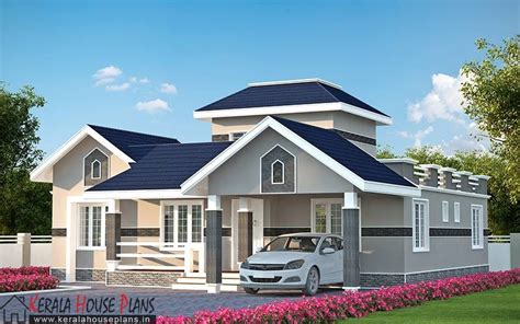 Kerala Model House Plans With Elevation Three Bedroom Kerala Model House Elevation Kerala House Design House Elevation