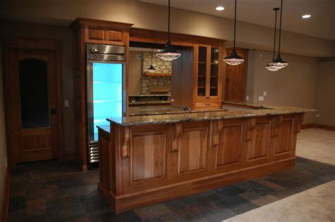 Gray Kitchen Cabinets by Custom Hickory Cabinets By Custom Corners Llc Custommade Com